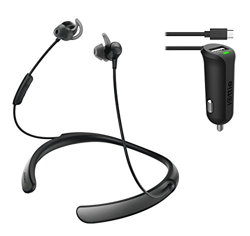 Bose Quietcontrol 30 Wireless Headphones, Noise Cancelling - Black & Car Charger Bundle by Bose