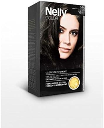 NELLY Tinte N.3 CASTAÑO Oscuro, Negro, Estándar: Amazon.es: Hogar