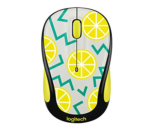 Logitech Play Collection M325c Mouse - Optical - Wireless - Radio Frequency - Lemon - Usb - 1000 Dpi - Tilt Wheel - 5 Button[s] (Usb Frequency Radio Wireless Pc)