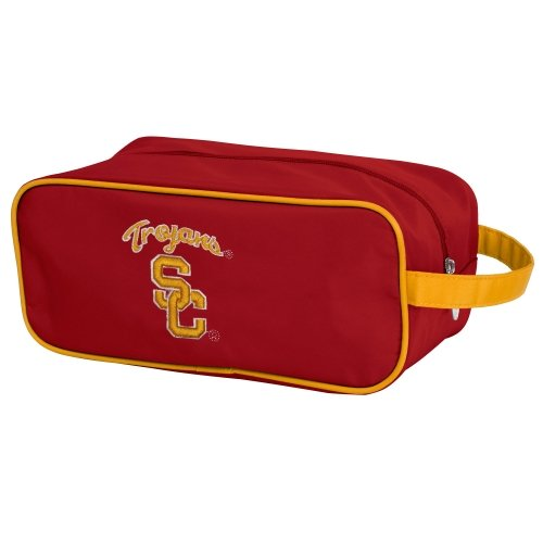 Charm14 NCAA USC Trojans Travel Case-Toiletry Bag with Embroidered Logo