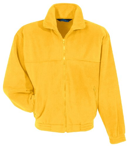 Tri-mountain Panda fleece jacket. 7600 - YELLOW GOLD_L