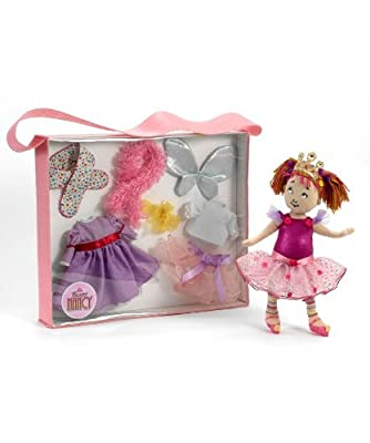 "Madame Alexander Dress Up Tote with 12"" Cloth Doll, Fancy Nancy Collection"