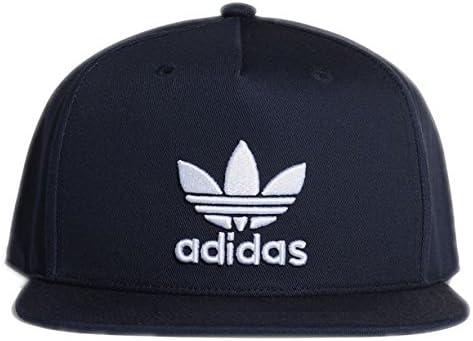 671a6863 adidas Men's AC Trefoil Flat Cap, Collegiate Navy, OSFL: Amazon.co.uk:  Sports & Outdoors