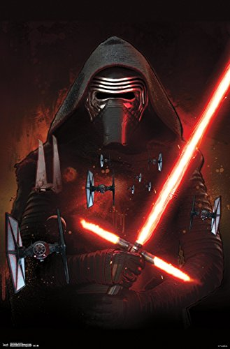 Trends International Star Wars The Force Awakens Kylo Ren Wall Poster 22.375