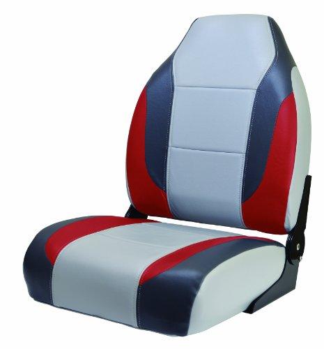 Wise 8WD717-841 Premium High Back Seat - Back Boat High Seat Premium