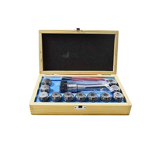 INTBUYING R8 shank er32 collet with 11pc tool set CNC Lathe Spring Collet
