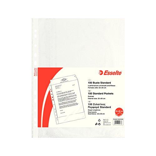 Esselte 391007300Envelope A Perforation, Transparent