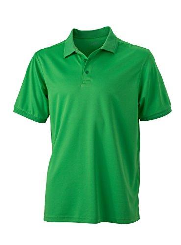 Herren Active Polo | James & Nicholson | JN 576, Farbe:green;Größe:XXXL