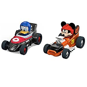 Mickey and the Roadsters Limited Edition Halloween Diecast Car bundle -- 2 items: Mickey's Halloween Spookster and Donald's Fright Mobile
