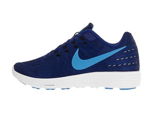 Nike Lunartempo 2, Zapatillas de Running para Hombre Azul (Azul (deep royal blue/blue glow-black-white))