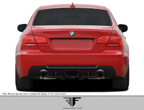 Aero Function ED-EAU-554 AF-3 Rear Diffuser (GFK) - 1 Piece Body Kit - Compatible For BMW 3 Series - Aero Lip One Front