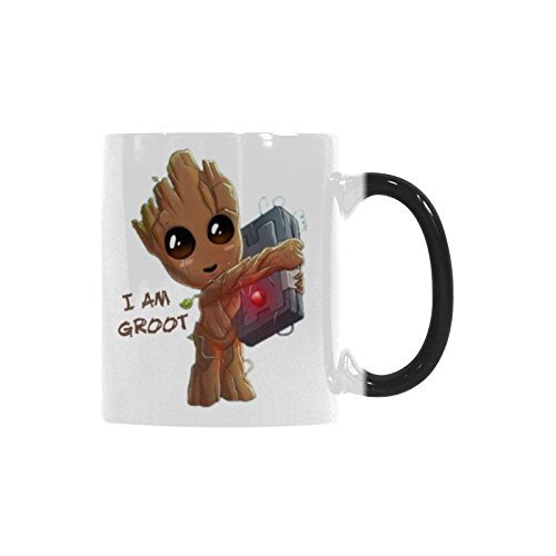 11 Tea Mugs Gift Cup I'm Groot Reveal Oz Morphing Heat Coffee Changing Mug Idea Color Funny xWroBdCe