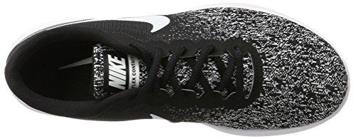 Contact Herren Black Schwarz Laufschuhe 001 Nike White UK Flex Schwarz wgqanC
