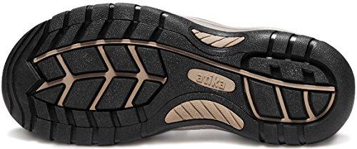 ATIKA AT-M108-CBN_Men 9 D(M) Men's Sports Sandals Trail Outdoor Water Shoes 3Layer Toecap M108 by ATIKA (Image #8)