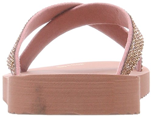flip*flop Cross*Glam - Sandalias con Punta Abierta Mujer Pink (Ballet)