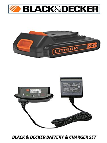Black and Decker 16v-20v Standard Li-ion Charger 90590282, 1-Pack (Battery & Charger)