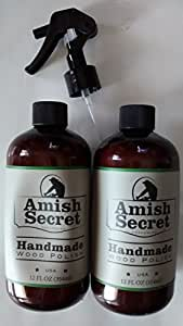 Amazon Com Amish Secret Handmade Wood Polish 2 12 Oz