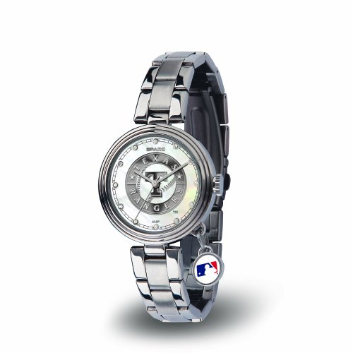MLB Texas Rangers Charm Watch, (Texas Rangers Watch)