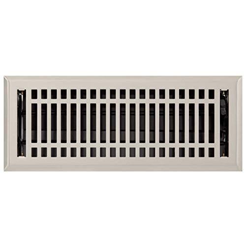 (Signature Hardware 226204 Contemporary Steel Floor Register - 4