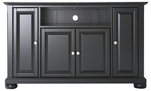 Crosley Furniture Alexandria 48-inch TV Stand - Black - Rubbed Black Tv