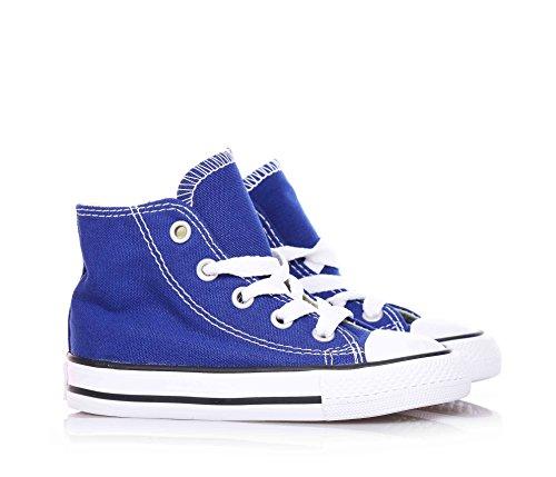 CONVERSE - Zapatillas deportivas color azul marino con cordones, en tela, Niño, Niños Roadtrip Blue