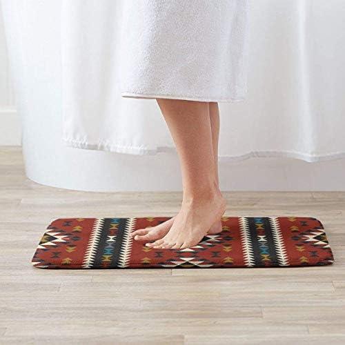 LZMM KOYA94 Native Southwest American Indian Aztec Navajo Entrance Door Mat Bath Floor Home Non Slip Doormat Offices Rug Kitchen Bathroom Carpet Decor 15.7x23.6 in