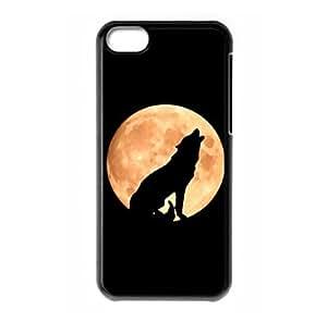Fantastic Wolf logo Design for iPhone 5C hard back case