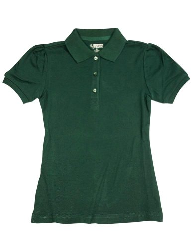 French Toast Girls Short Sleeve Stretch Pique Polo