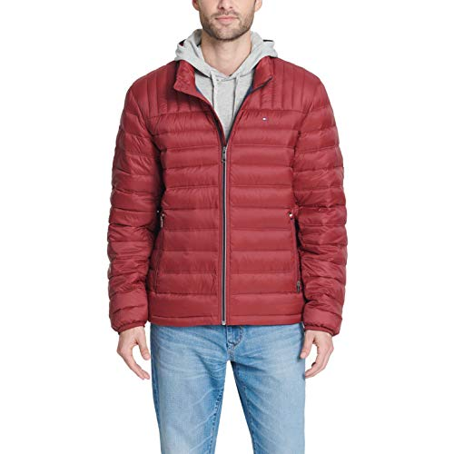 Tommy Hilfiger Men's Ultra Loft Lightweight Packable Puffer Jacket
