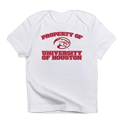 CafePress Property of University of Houston - Cute Infant T-Shirt, 100% Cotton Baby Shirt -