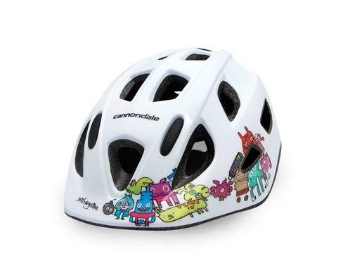 Cannondale Quick Jr. Burgerman Colab Kids Helmet X-Small White