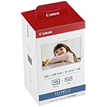 Canon 3115B001 KP-108IN Color Ink Paper Set