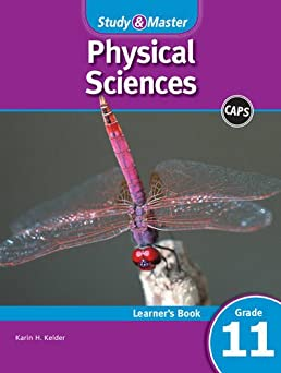 study master physical sciences learner s book grade 11 caps rh amazon com Physical Science Workbook Physical Science Study Guide Answers