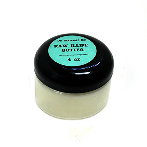 RAW Illipe Butter Organic 100% Pure 4 Oz