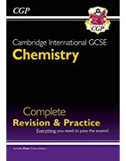 Cambridge International GCSE Chemistry Complete Revision & Practice - for exams in 2022