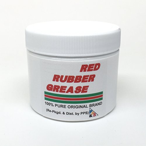 57gm / 2 oz. 100% PURE GENUINE CASTROL RED RUBBER GREASE, for Brake Caliper Piston Seals and Boots, Corrosion and Oxidation Resistant, Meets Lucas Girling TS-2-34-04 (Girling Brake Calipers)