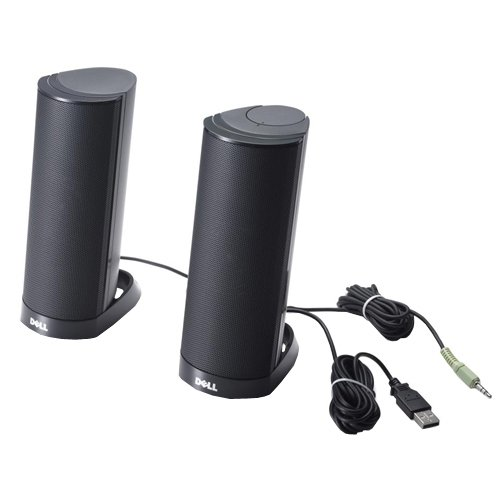 Dell AX210 USB Stereo Speaker System (W955K) by Dell (Image #1)