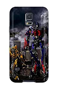 Shock-dirt Proof Transformers Age Of Extinction Case Cover For Galaxy S5