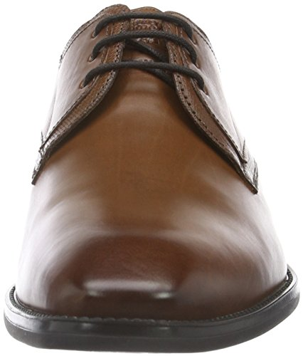 Uomo men Castle Braun FRETZ 56 Scarpe Marrone Cigar Stringate zITdq