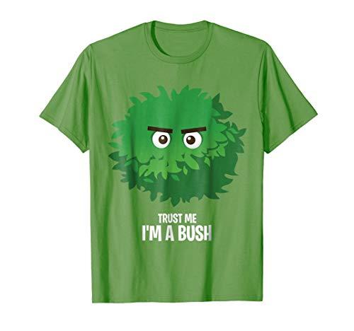 Funny PC Gamer Halloween Costume T Shirt I'm a Bush