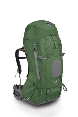 Osprey Ariel 55-Litre Backpack (Sage Green, Medium), Outdoor Stuffs