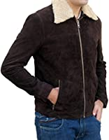 Outfitmakers The Walking Dead Rick Grimes Suede Leather Jacket - Season 6