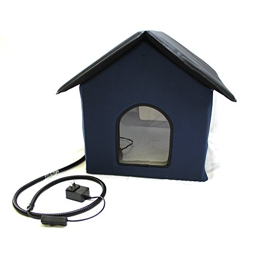 Dog House Insulation - Cell Glove Heated Outdoor Cat House (Waterproof)