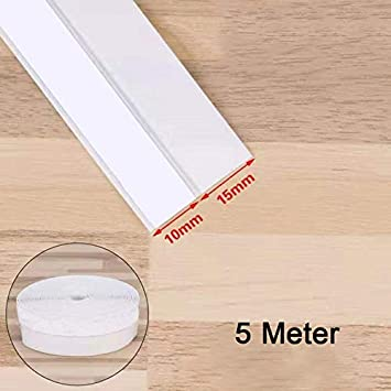 Starmood 25mm Silicone Joint de Porte Autocollant Bande de Protection Contre Le Froid Silicone Joint de Porte inf/érieur Portes et fen/êtres insonoris/ées