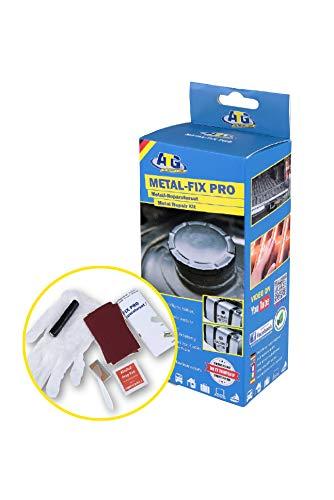ATG Metal-FIX - Metal Repair Kit - Seal, Filler, Patch - Moldable Plasticine Sealant - DIY Smart Repair - 9 Pieces Included ()