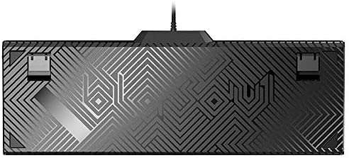 ゲーミング キーボード 有線ゲーミングメカニカルキーボード104個のキー15 RGBバックライトチェリーMXスイッチ1000Hzを Windows/Mac OS対応 仕事PC用/自宅ゲーム用 (Color : Black, Size : Black Switch)