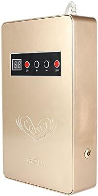 Ionizador Purificador Aire, Generador de Ozono, de Abs 220V, 50Hz 15W Ionizador con Orificios Posteriores(ORO): Amazon.es: Hogar