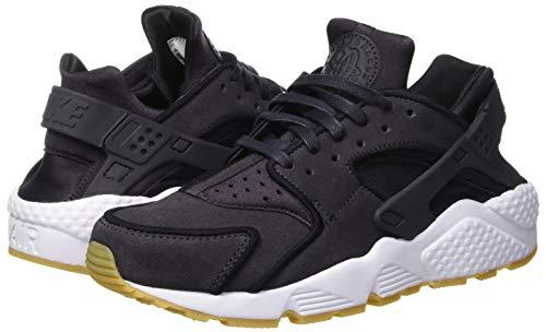 Da Prm white Air Grey oil 018 oil black Huarache Fitness Multicolore Nike Scarpe Donna Grey Wmns Run UBYppq