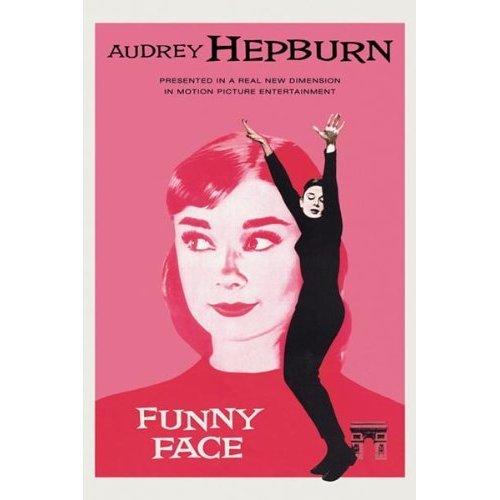 AUDREY HEPBURN POSTER Funny Face RARE HOT NEW 24x36