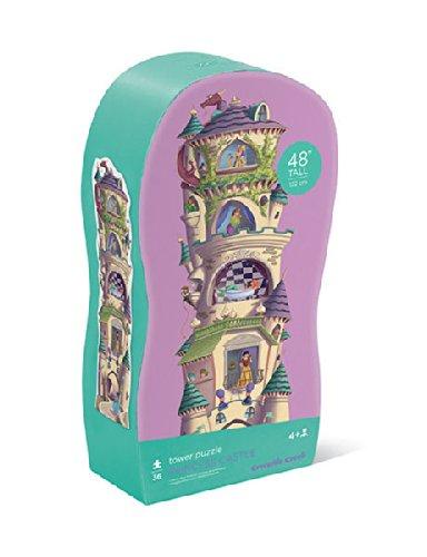 Crocodile Creek 36 pc Tower Floor Puzzle/Princess Castle